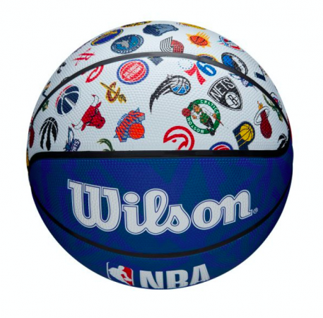 Wilson NBA All Team Basketball Outdoor - Уличные Баскетбольный Мяч - 3
