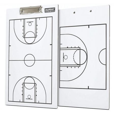 Murray Dry Erase Double-Sided Basketball Coaches Clipboard - Баскетбольная Тренерская Доска - 1