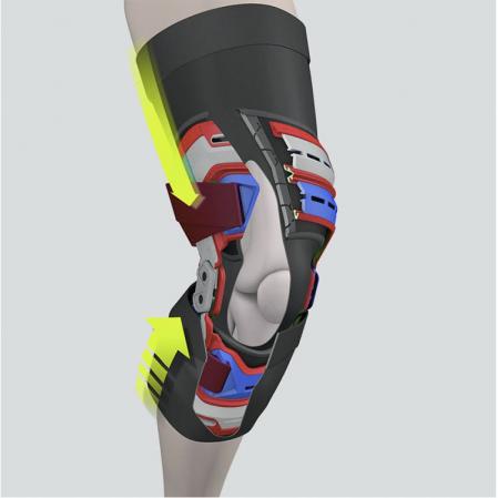 McDavid Elite Bio-Logix™ Knee Support Brace - Укрепляющий наколенник (Левый) - 3