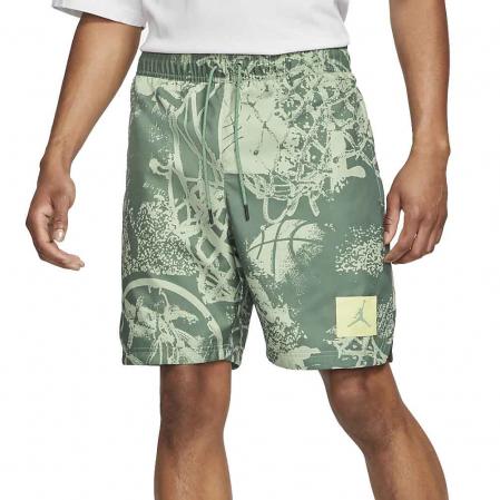 Jordan Flight Men's Printed Poolside Shorts - Мужские Купальные Шорты - 1