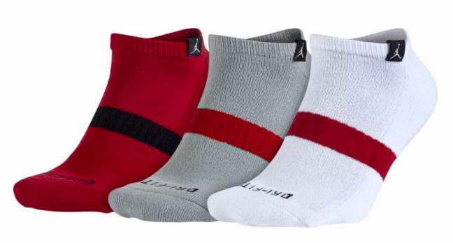 Jordan Dri-Fit No Show 3 Pack Socks - Баскетбольные Носки - 1