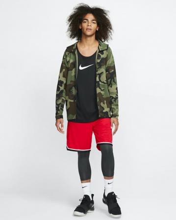 Nike Pro Men's 3/4 Basketball Tights - Компрессионные Штаны - 7