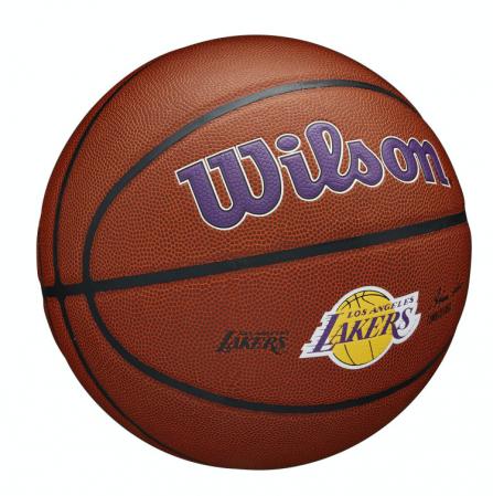 Wilson NBA Team Alliance Basketball - Баскетбольный Мяч - 4