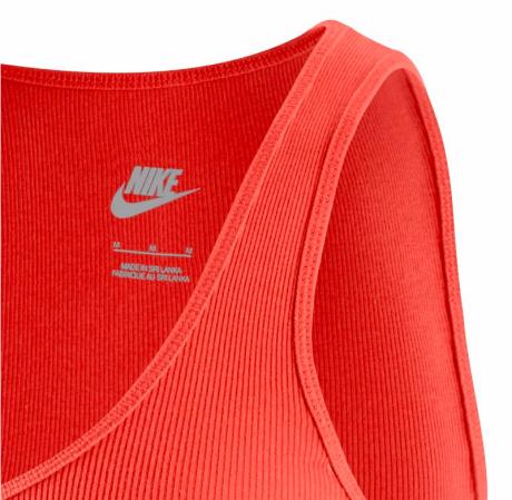 Nike Rib Tank - Женская Спортивная Майка - 4