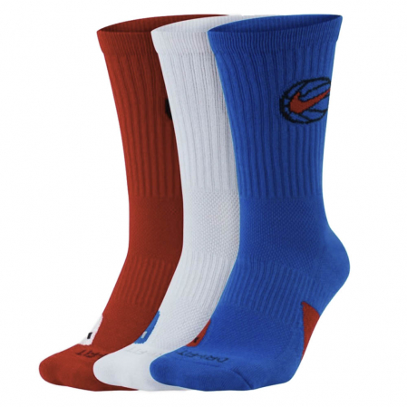 Nike Everyday Crew Basketball Socks (3 Pair) - Баскетбольные Носки - 1