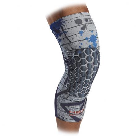 McDavid Hex Reversible Leg Sleeve - Компрессионный наколенник с защитой(2 штуки, двухсторонние) - 1