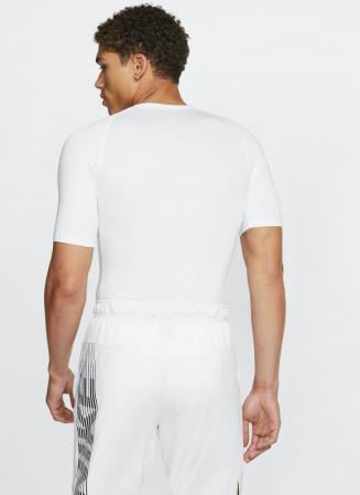 Nike Pro Men's Tight-Fit Short-Sleeve Top - Компрессионная Футболка - 2