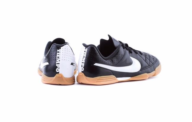 Nike JR Tiempo Rio II IC - Детские Футбольные Кроссовки - 4