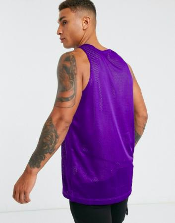 Nike Los Angeles Lakers Reversible Tank Standard Issue Courtside - Двухсторонняя Баскетбольная Майка - 2