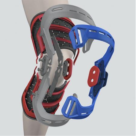McDavid Elite Bio-Logix™ Knee Support Brace - Укрепляющий наколенник (Левый) - 4