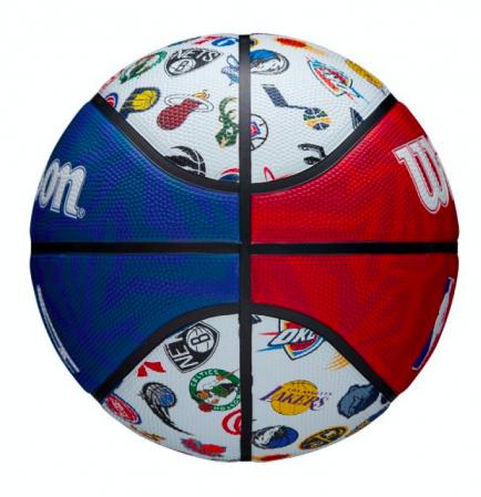Wilson NBA All Team Basketball Outdoor - Уличные Баскетбольный Мяч - 5