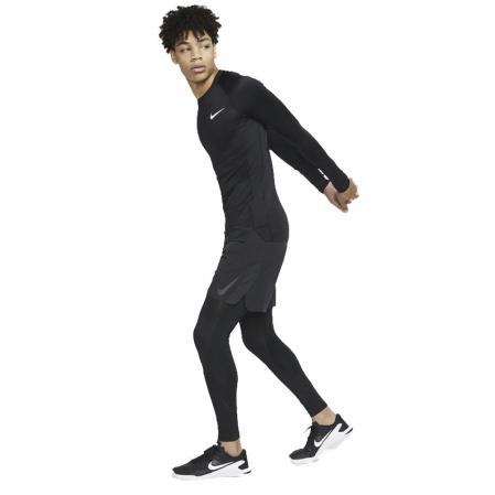 Nike Pro Tight Fit Long-Sleeve Top - Компрессионная Кофта - 2