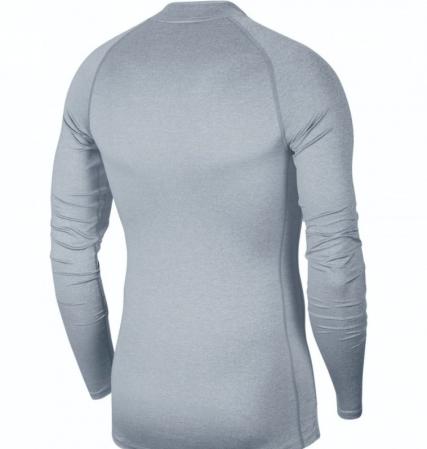 Nike PRO Top Tight LS Mock (с воротником) - Компрессионная Кофта - 2