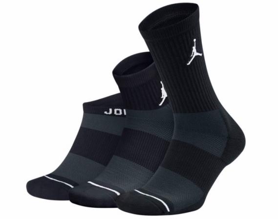 Air Jordan Waterfall 3PPK - Баскетбольные Носки - 1