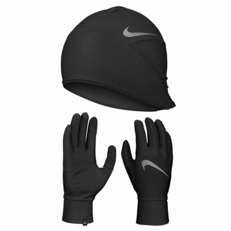 Nike Mens Essential Running Hat and Glove Set - Набор для Бега - 1