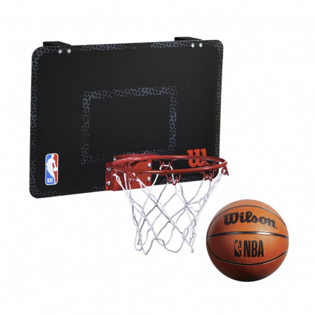 Wilson NBA Forge Acrylic Mini Hoop - Баскетбольное Мини-кольцо(+30 стикеров команд NBA) - 1