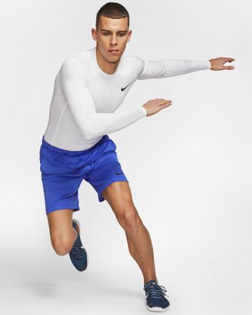 Nike Pro Tight Fit Long-Sleeve Top - Компрессионная Кофта - 5