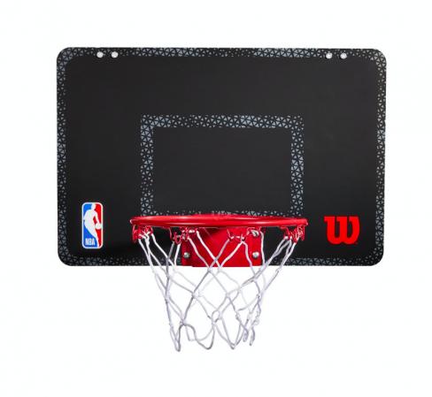 Wilson NBA Forge Acrylic Mini Hoop - Баскетбольное Мини-кольцо(+30 стикеров команд NBA) - 2