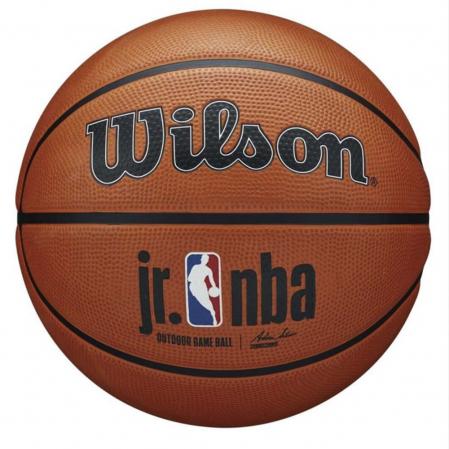 Wilson Jr. NBA Authentic Indoor/Outdoor Basketball - Универсальный Баскетбольный Мяч - 1