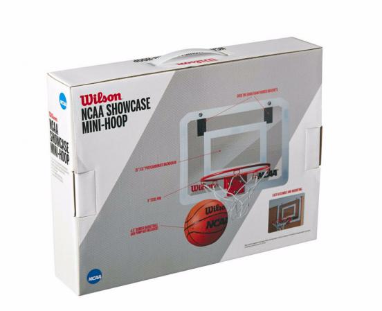 Wilson NCAA Pro Mini Hoop - Навесное баскетбольное мини-кольцо - 3