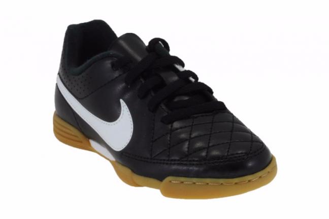 Nike JR Tiempo Rio II IC - Детские Футбольные Кроссовки - 3