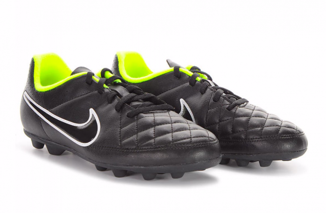 Nike Jr Tiempo Rio II Fg-R - Детские Футбольные Кроссовки - 8