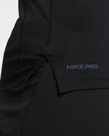 Nike Pro Men's Tight-Fit Short-Sleeve Top - Компрессионная Футболка - 5