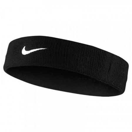 Повязка на голову Nike SWOOSH HEADBAND BLACK - 1