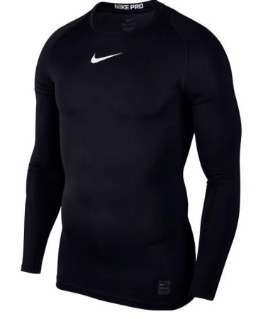 Nike Pro Cool Compression Long Sleeve Top - Компрессионная Кофта - 1