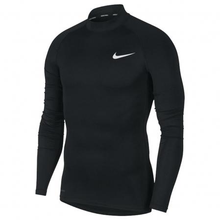 Nike PRO Top Tight LS Mock (с воротником) - КОМПРЕССИОННАЯ КОФТА - 1