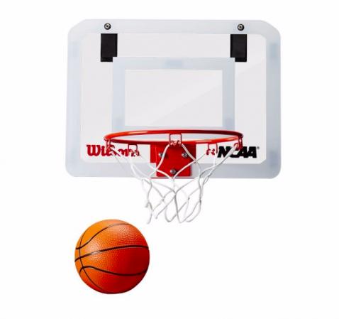 Wilson NCAA Pro Mini Hoop - Навесное баскетбольное мини-кольцо - 2