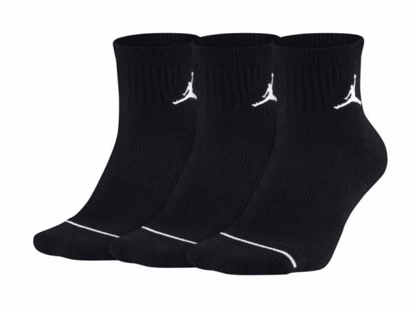 Jordan Jumpman Quarter Dri-Fit 3PPK - Баскетбольные Носки - 1