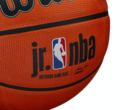 Wilson JR. NBA Authentic Outdoor Basketball - Универсальный Баскетбольный Мяч - 4