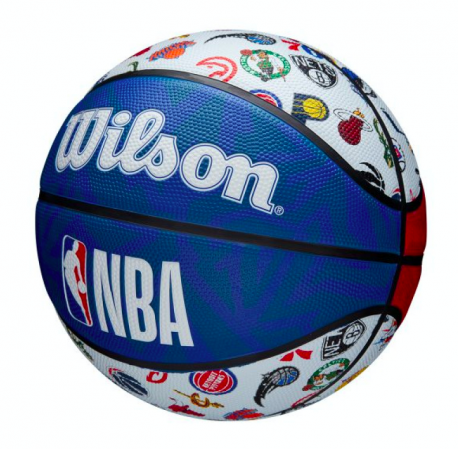 Wilson NBA All Team Basketball Outdoor - Уличные Баскетбольный Мяч - 6