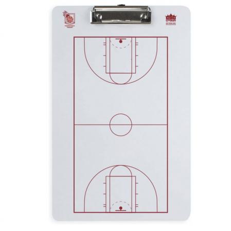 Crown Dry Erase Basketball Coaching Clipboard - Баскетбольная Тренерская Доска - 1