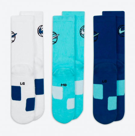 Nike Everyday Crew Basketball Socks (3 Pair) - Баскетбольные Носки - 5