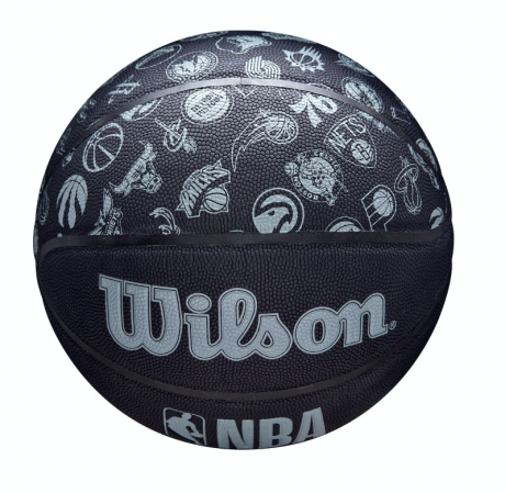 Wilson NBA All Team Basketball - Универсальный Баскетбольный Мяч - 5