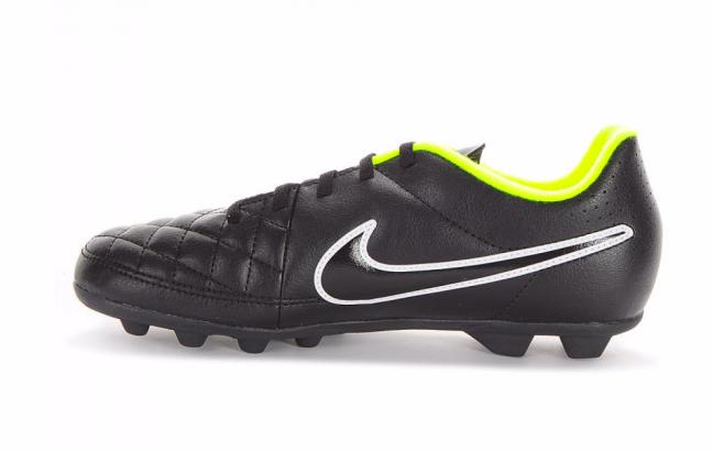 Nike Jr Tiempo Rio II Fg-R - Детские Футбольные Кроссовки - 4
