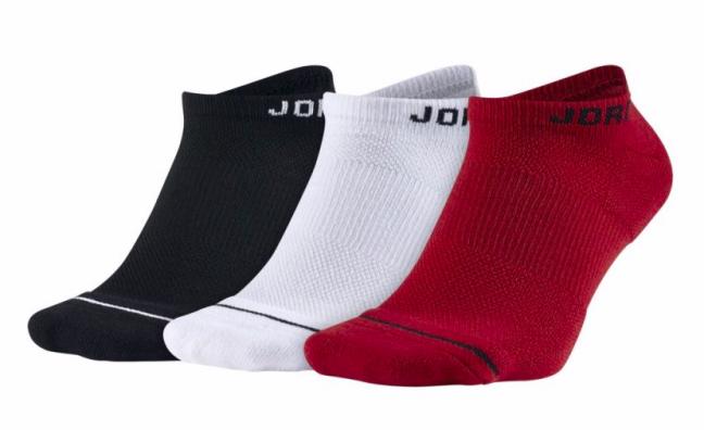 Jordan Jumpman Dri-Fit No-Show 3PPK - Баскетбольные носки (3 пары) - 1