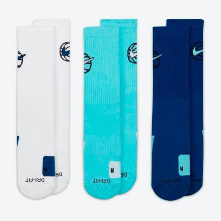 Nike Everyday Crew Basketball Socks (3 Pair) - Баскетбольные Носки - 4