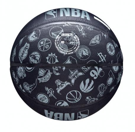 Wilson NBA All Team Basketball - Универсальный Баскетбольный Мяч - 6