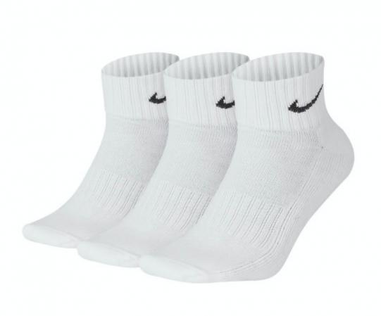Nike 3ppk Value Cotton Quarter - Спортивные Носки - 1