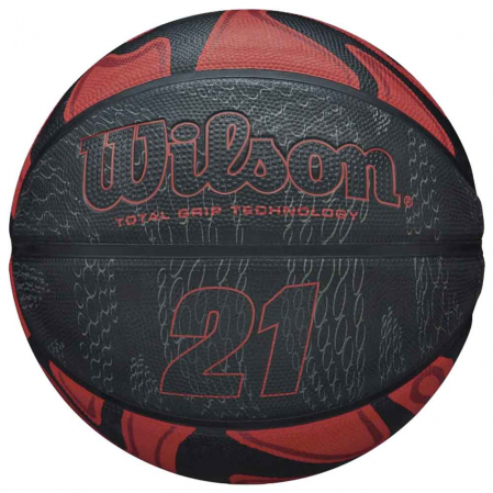 Wilson 21 Series Total Grip - Универсальный баскетбольный мяч - 1