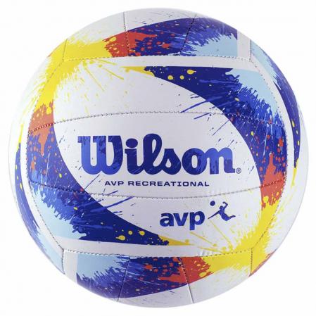 Wilson AVP Splatter - Мяч для Пляжного Волейбола - 1