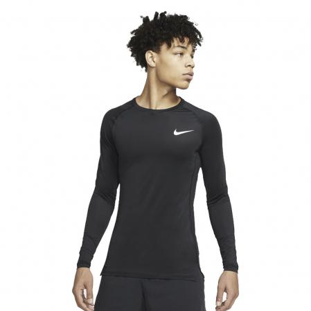 Nike Pro Tight Fit Long-Sleeve Top - Компрессионная Кофта - 1