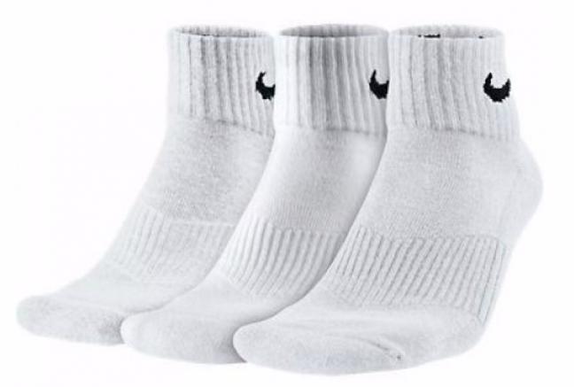 Nike 3PPK Cushion Quarter - Спортивные Носки - 1