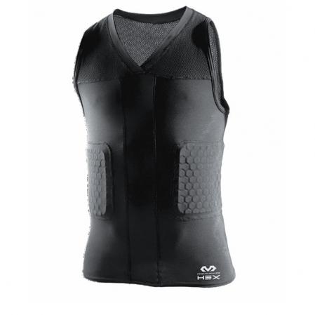 McDavid Hex® Tank Shirt/3-Pad - Компрессионная майка с защитой - 1