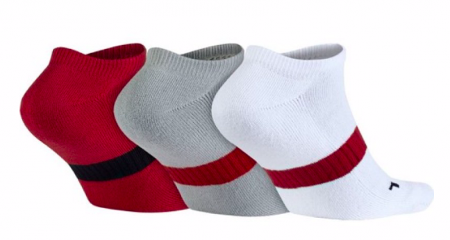 Jordan Dri-Fit No Show 3 Pack Socks - Баскетбольные Носки - 2
