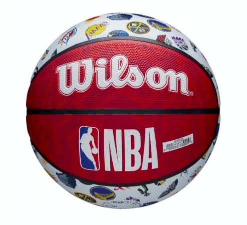 Wilson NBA All Team Basketball Outdoor - Уличные Баскетбольный Мяч - 2