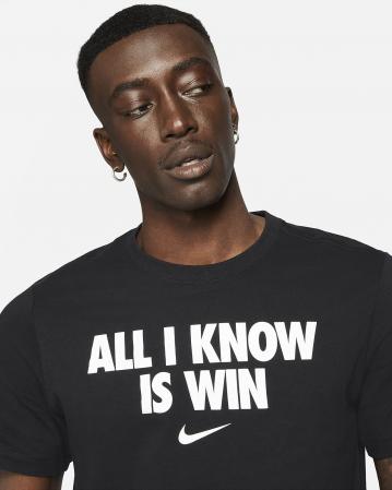 "Nike ""All I Know Is Win"" Men's Basketball T-Shirt - Мужская Футболка - 3"